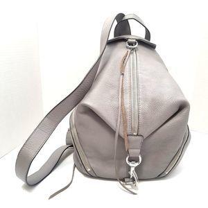Rebecca Minkoff Julian Backpack Gray Leather